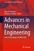 Advances in Mechanical Engineering: Select Proceedings of ICAME 2020 (Lecture Notes in Mechanical Engineering)