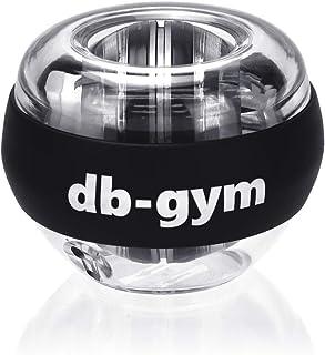 db-gym スナップボール ツイストボール オートスタート 手首 筋トレ 握力 鍛える トレーニング ジャイロ回転 筋トレ器具