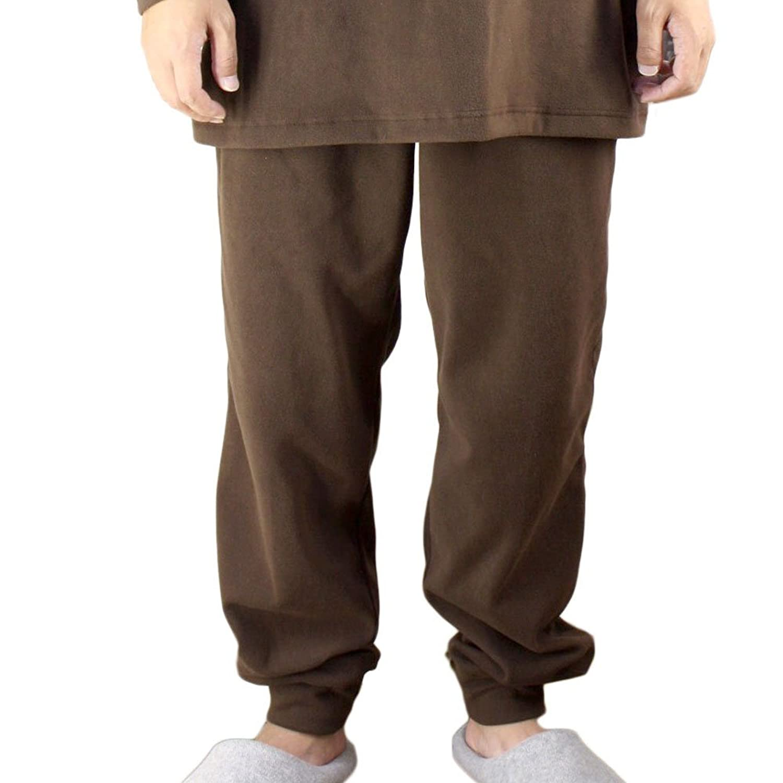 [パジャマ工房] 【リブ付き】パンツのみご要望の方に。入院用の替えパンツ、スリーパーのパンツスタイルにも。パンツ単品でお買い求め頂けます。【スーパーマイクロフリース】 [zp0904]