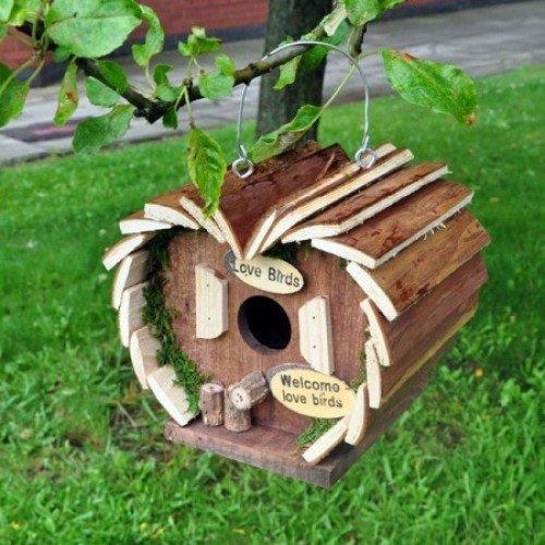 Vogel Eichhörnchen Insektenhotel