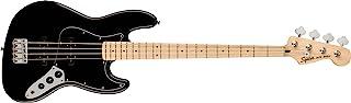 Squier by Fender エレキベース Affinity Series™ Jazz Bass®, Maple Fingerboard, Black Pickguard, Black