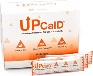 Upcal D Unflavored Powedered Calcium 80 x 5g Stick Packs