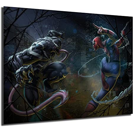 Spiderman/'s side face HD Picture Canvas prints Painting Home decor Room Wall art