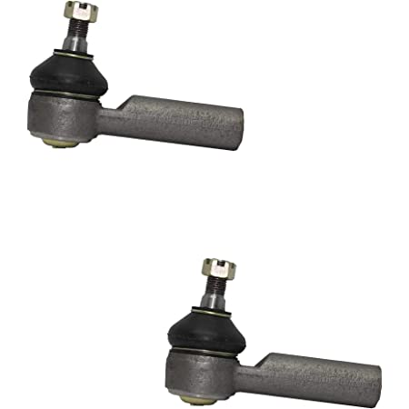 2pc ECCPP Front Outer Tie Rod End Steering Tie Rods for 2001-2007 Ford Escape 2001-2006 Mazda Tribute 2005-2007 Mercury Mariner