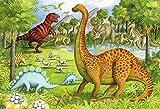 Rompecabezas de 500 piezas para adultos Juego de madera grande Dificultad Divertido dinosaurio Animal Pals Super Puzzle