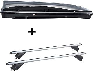 90kg Lockable VDP Roof Rack Rails Aluminium CRV107/A Seat Ibiza IV SW 5-Door 2010/2015-2017/