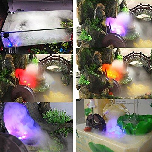 Baoblaze 12-LED Mist Maker Luftbefeuchter Nebel Wasserzerstäuber Hersteller