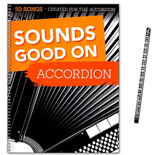 Sounds Good On Accordion - 50 Songs Created For The Accordion - Songbook für Akkordeon mit Piano-Bleistift