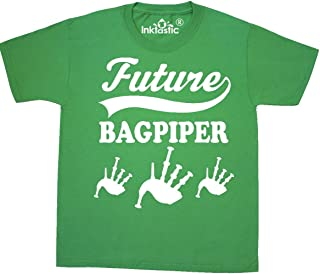 inktastic Future Bagpiper Bagpipes Music Gift Youth T-Shirt