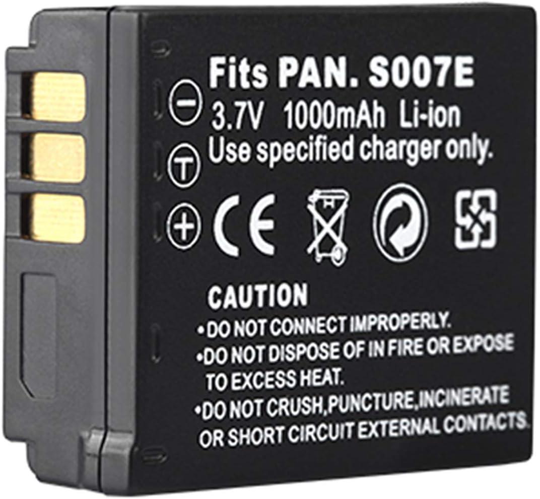 Battery Pack for Great interest Panasonic LUMIX DMC-TZ2 DMC-TZ1 DMC- DMC-TZ3 Limited price