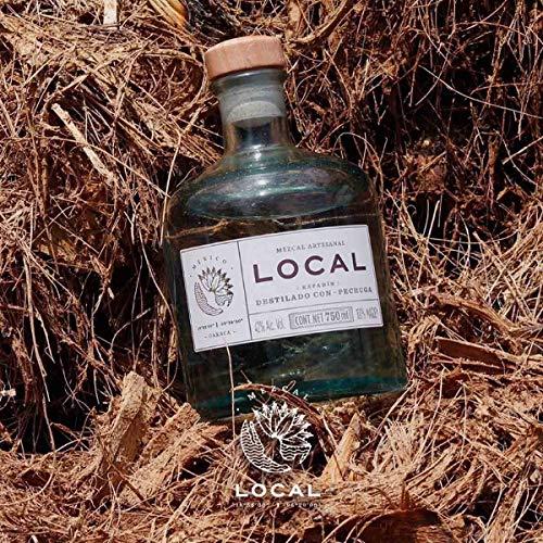 Mezcal Local Destilado con Corazón de Agave | Pechuga 42% (1 x 0.7 l) - 7