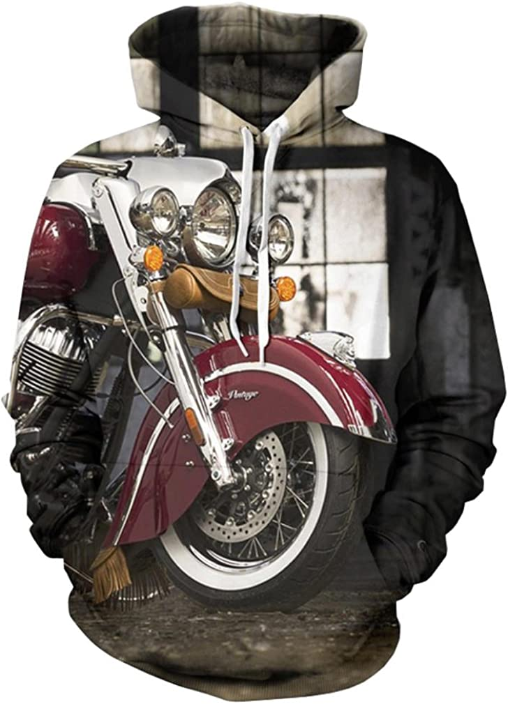 Doxi Ranking TOP5 Unisex Clothing Sweater New Free Shipping Motorcycles Fashion Indian Vintage