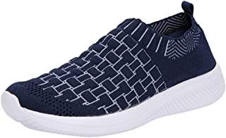 〓COOlCC〓Sneakers for Women, Athletic Walking Shoes Casual Mesh-Comfortable Work Sneakers Soft Platform Loafers Running