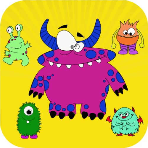 Monster Coloring Book