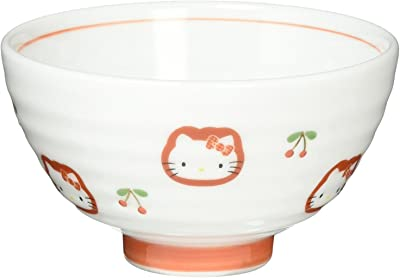 飯碗 おしゃれ : 有田焼 HELLO KITTY キティちゃん 茶碗 Japanese RICE BOWL Porcelain/Size(cm) Φ10.7x6.2/No:434368