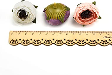 Artificial Flowers in Bulk Wholesale Daisy Mini Artificial Silk Rose Flowers Heads DIY Scrapbooking Fake Flower Kiss Ball for