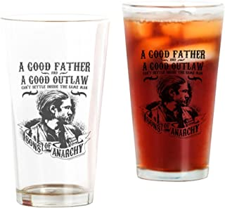 CafePress Sons Of Anarchy Good Father Pint Glass, 16 oz. Drinking Glass