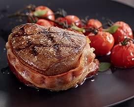 Kansas City Steaks 8 (5oz.) Super Trimmed Filet Mignon with Bacon