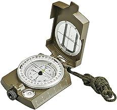 OPcFKV Brújula Lensática Multifuncional |Resistente al Impacto e Impermeable | Brújulas de navegación de observación de Metal for Senderismo, Camping, automovilismo, navegación, Boy Scout