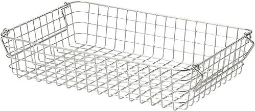 Muji 18-8 Stainless Wire Basket 2, 37 x 26 x 8cm