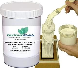 EnvironMolds Liquid Latex Mold Making Rubber 1-Pint