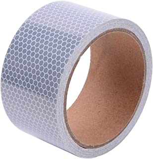 Brightplus High Intensity Safety Tape Reflective Tape Auto Car Silvery White Adhesive (2