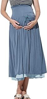 Sweet Mommy Maternity and Postpartum Reversible Midi Skirt