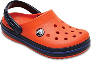 Crocs Kids' Crocband K Clog,Tennis Ball