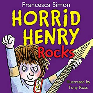 Horrid Henry Rocks                   By:                                                                                                                                 Francesca Simon                               Narrated by:                                                                                                                                 Miranda Richardson                      Length: 1 hr and 14 mins     29 ratings     Overall 4.6