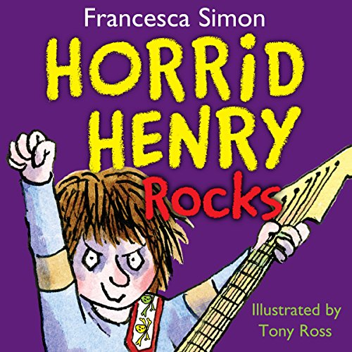 Horrid Henry Rocks audiobook cover art