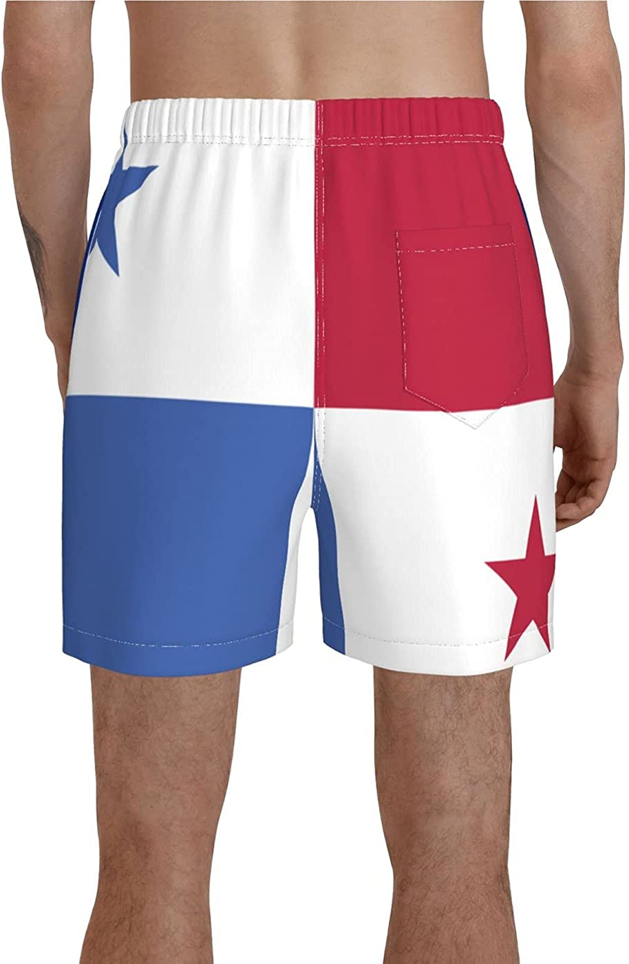 Count Kansas State Flag Men's 3D Printed Funny Summer Quick Dry Swim Short Board Shorts with