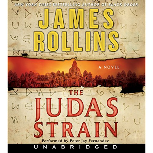 The Judas Strain  audiobook cover art