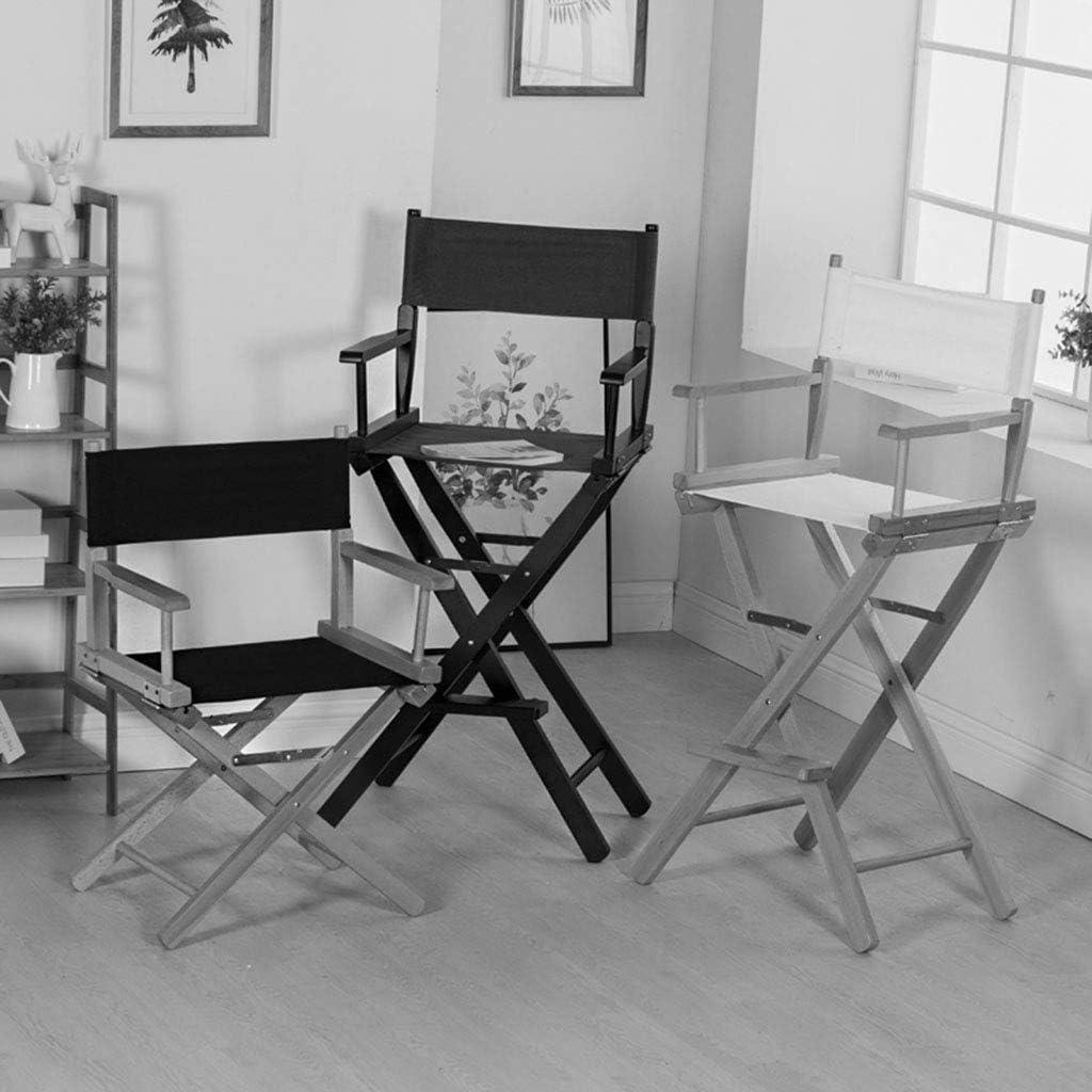 GQQ Chaise de Bureau, Chaise de Directeur En Bois Massif Chaise Pliante Portative Extérieure Chaise de Bureau Arrière Chaise de Salon Chaise Pliante,Bleu Bleu