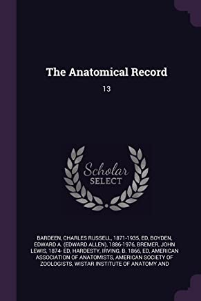 The Anatomical Record: 13