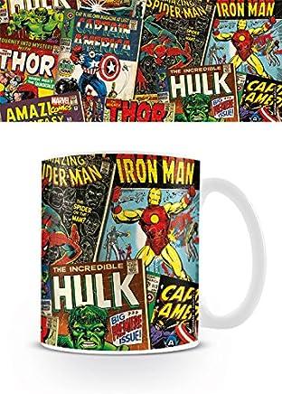 Preisvergleich für Marvel Comics Kaffeetassen, Keramik, Mehrfarbig 8x11.5x9.5 cm
