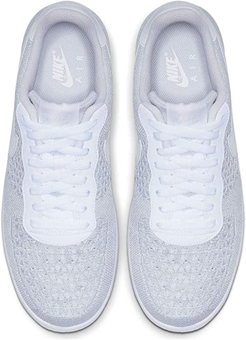 air force 1 flyknit bianche