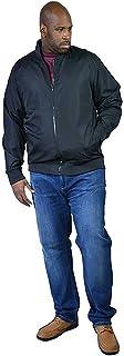 Mens Duke D555 Big Tall King Size James MA1 Harrington Bomber Jacket Coat