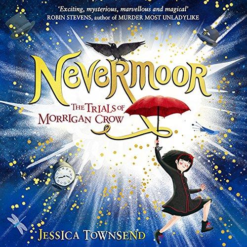Nevermoor audiobook cover art