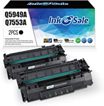 INK E-SALE Compatible Q5949A Q7553A Toner Cartridge Replacement for HP 49A Q5949A 53A Q7553A (Black 2 Pack) for use in HP ...