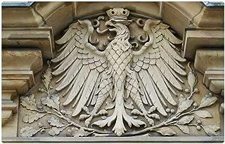 Tree26 Indoor Floor Rug/Mat (23.6 x 15.7 Inch) - Adler Bird of Prey Imperial Eagle Heraldic Animal