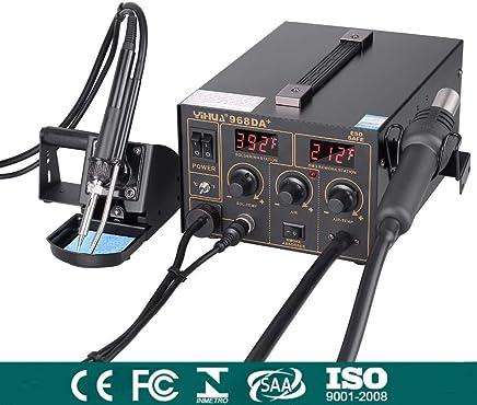 L/ötkolben Set 60W L/ötkolbenpistole mit tragbarem Schalter und einstellbarer Temperatur f/ür DIY oder Elektrotechnik Reparaturen Profi Enthusiast Volador Neuester 16 in1 L/ötsatz