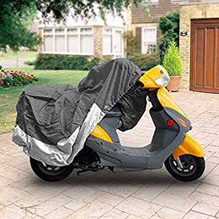 North East Harbor MC-Gry-S-M Storage (Universal Scooter Moped Cover Bikes Weatherproof 80