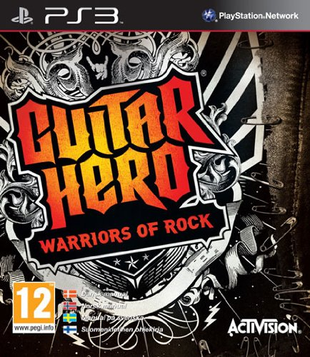 Guitar Hero: Warriors of Rock Stand-Alone Software - Playstation 3