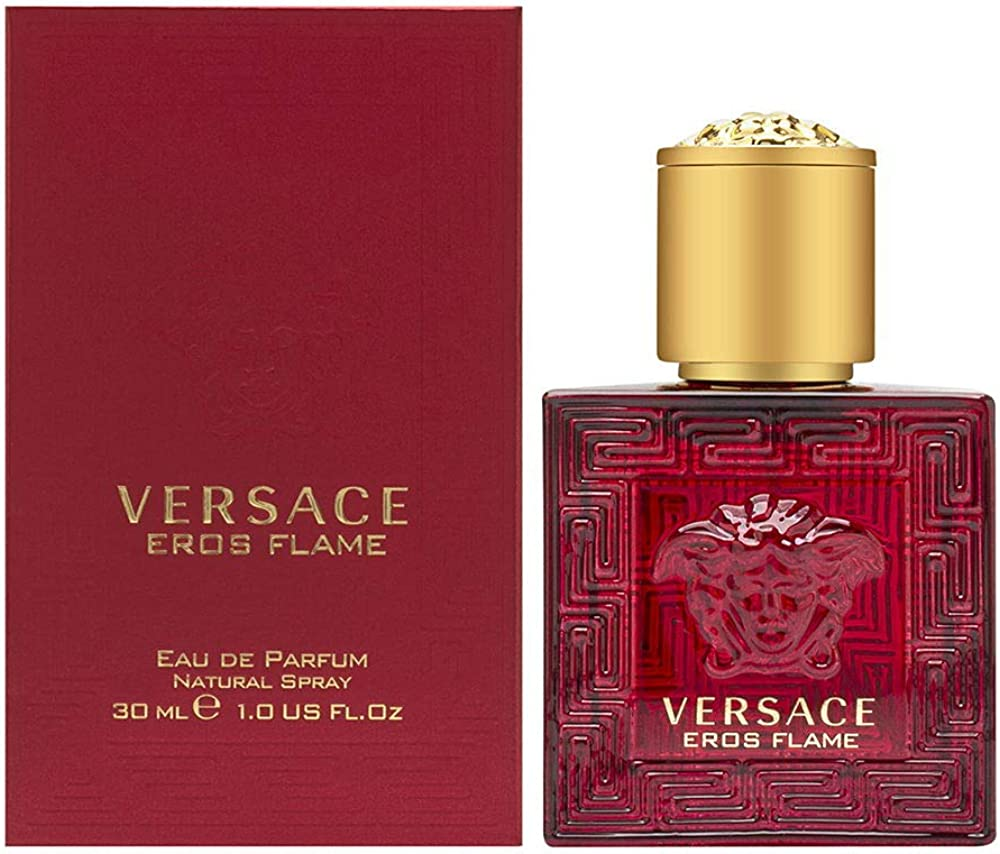 Versace eros flame, eau de parfum,prfumo per uomo, 30 ml 247380