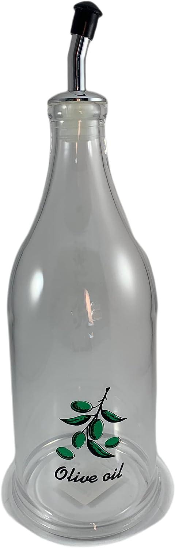 Aceitera 750ML para tu cocina, Botella de Cristal para Aceite, Utensilios de Cocina, Almacenamiento Alimentos