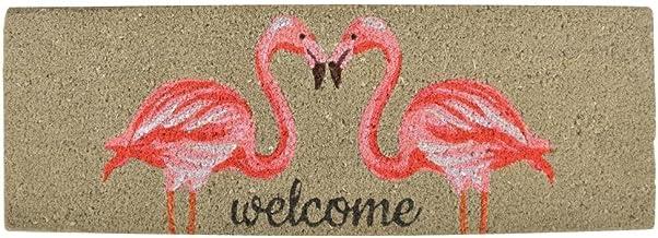 Esschert Design RB189 Coir Doormat Flamingo