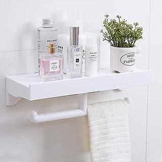 Lolypot Étagère de salle de bain Organisateur de douche Panier de douche amovible Panier de rangement Support pour shampoi...