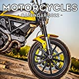Motorcycles Calendar 2022: 16-Month Calendar, Cute Gift Idea For Bikers Women & Men
