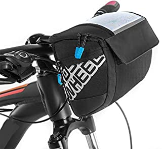 Alforja de bicicleta Docooler 3l con pantalla táctil multifunción, 20 x 10.5 x 16 cm