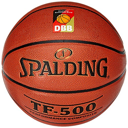 Spalding Basketball Tf500 Dbb Indoor (74-590z), Orange, 6